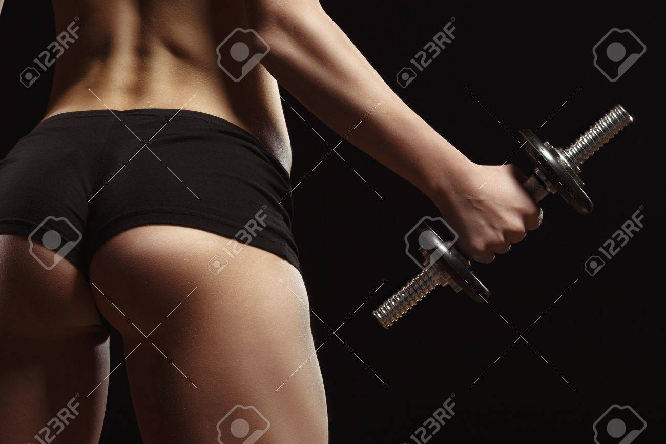 Gym sexy black ass pics