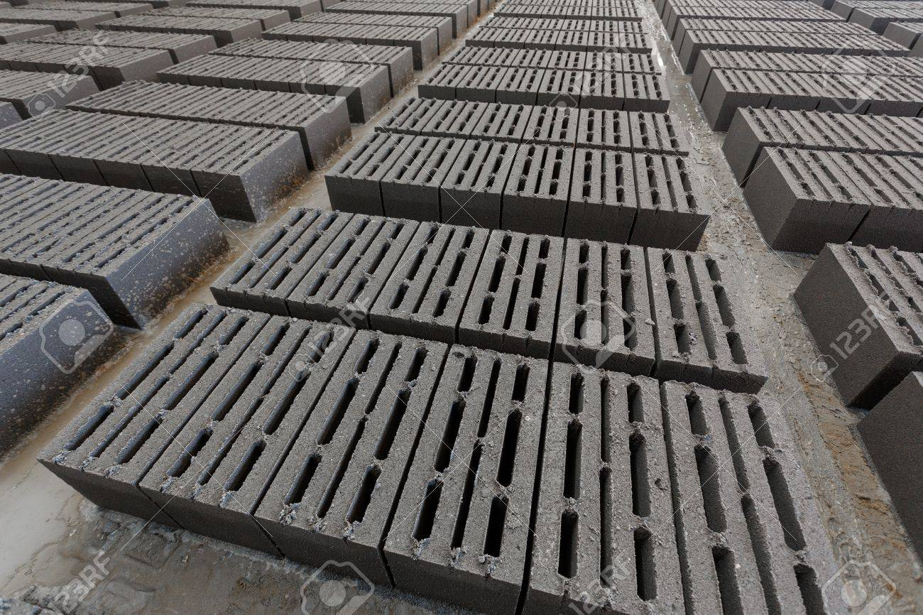 Pila De Ladrillos Fabricacion De Bloques De Hormigon Celular - Ladrillo-de-hormigon