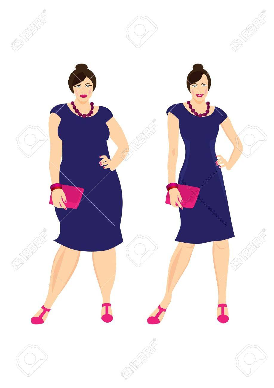 Before and after Stock Vector - 9832069