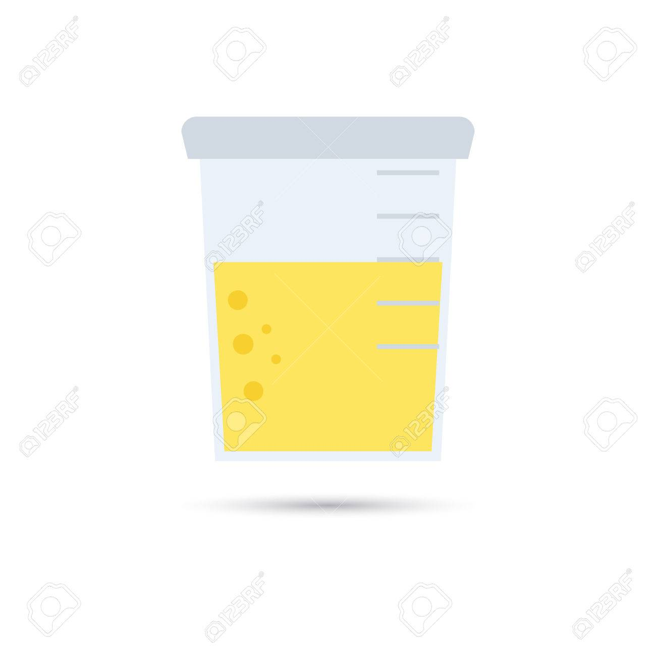urine analysis icon royalty free cliparts vectors and stock rh 123rf com