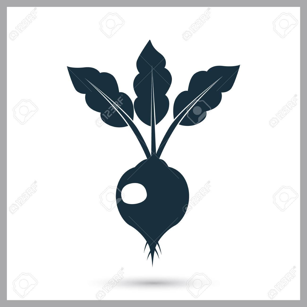 Beet Landwirtschaft Ernte-Symbol. Einfaches Design Für Web Und ...