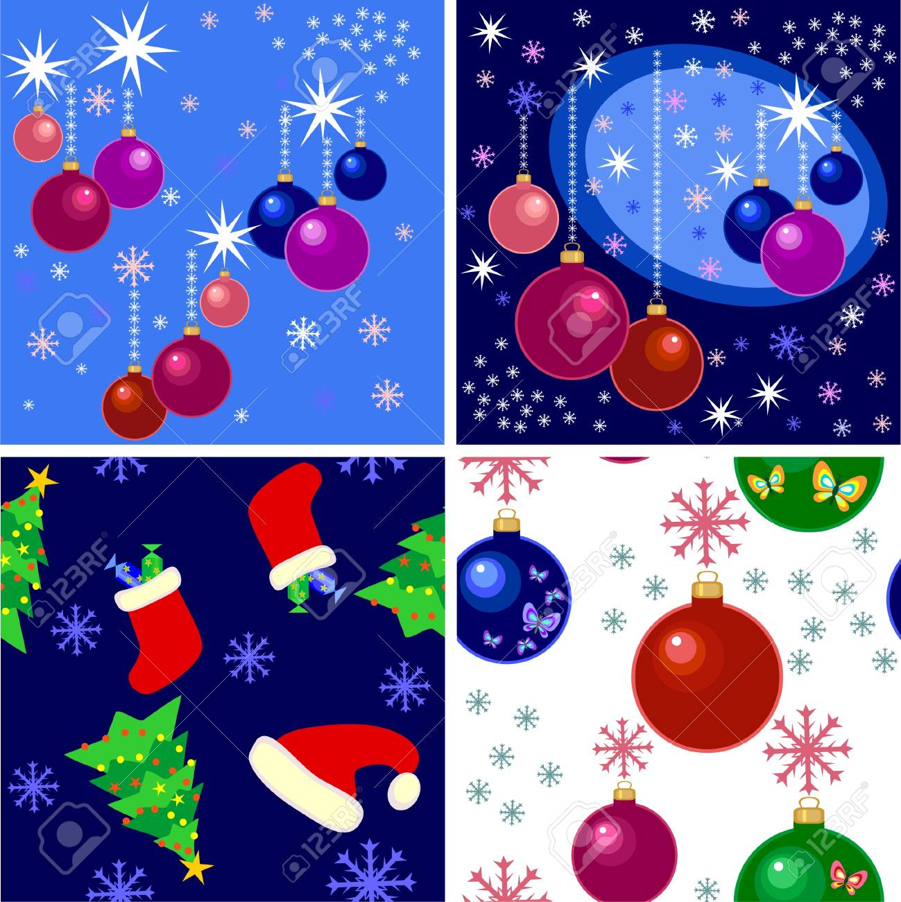 Christmas background Stock Vector - 8152064