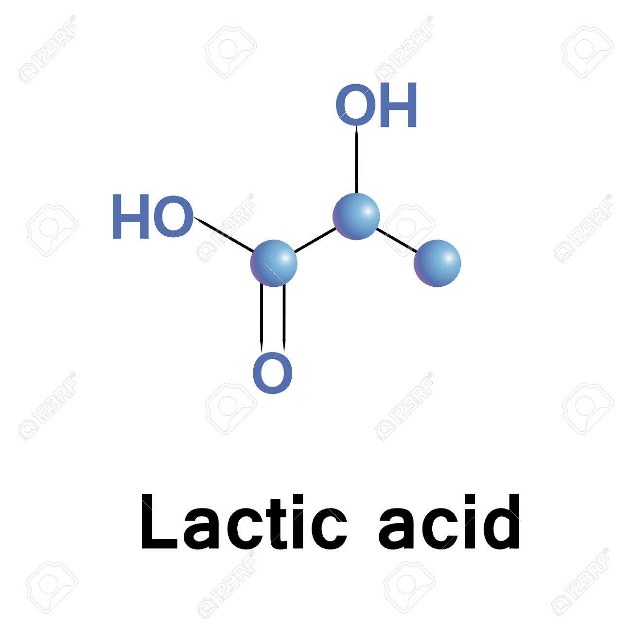 Lactic Acid Is An Organic Compound In The Form Of Its Conjugate