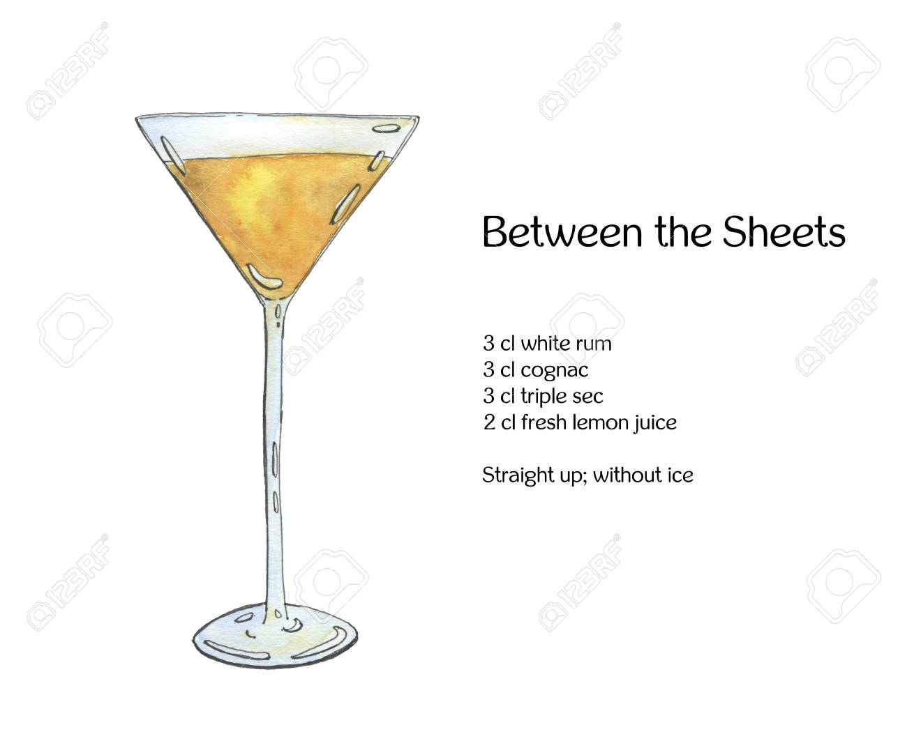 About The Between the Sheets Cocktail