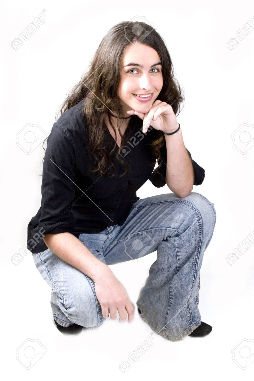 Portrait of a young attractive woman Stock Photo - 1886233