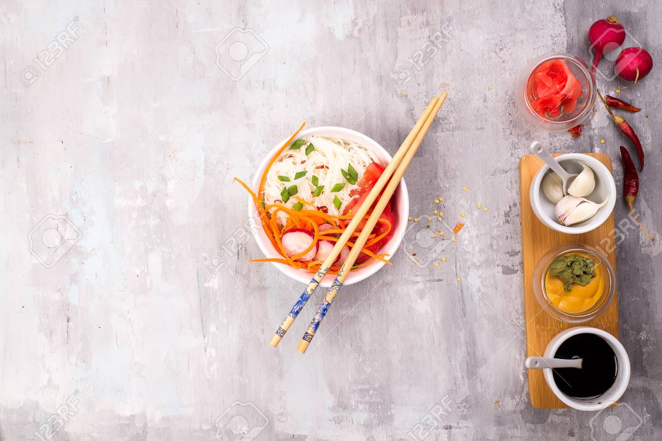 Ingredients For Preparation Of Pickled Ginger And Kimchi From Stock Photo Picture And Royalty Free Image Image 102383063