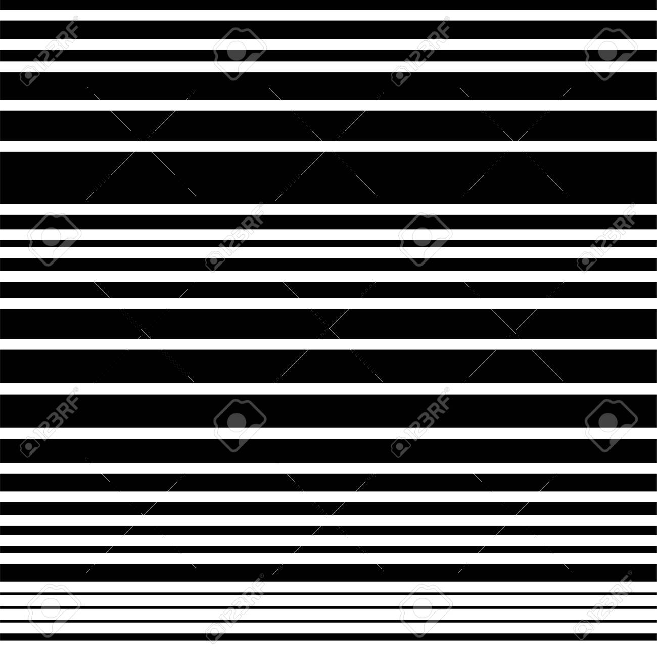 Narrow Black White Horizontal Lines Striped Seamless Pattern Royalty Free Cliparts Vectors And Stock Illustration Image 122368432