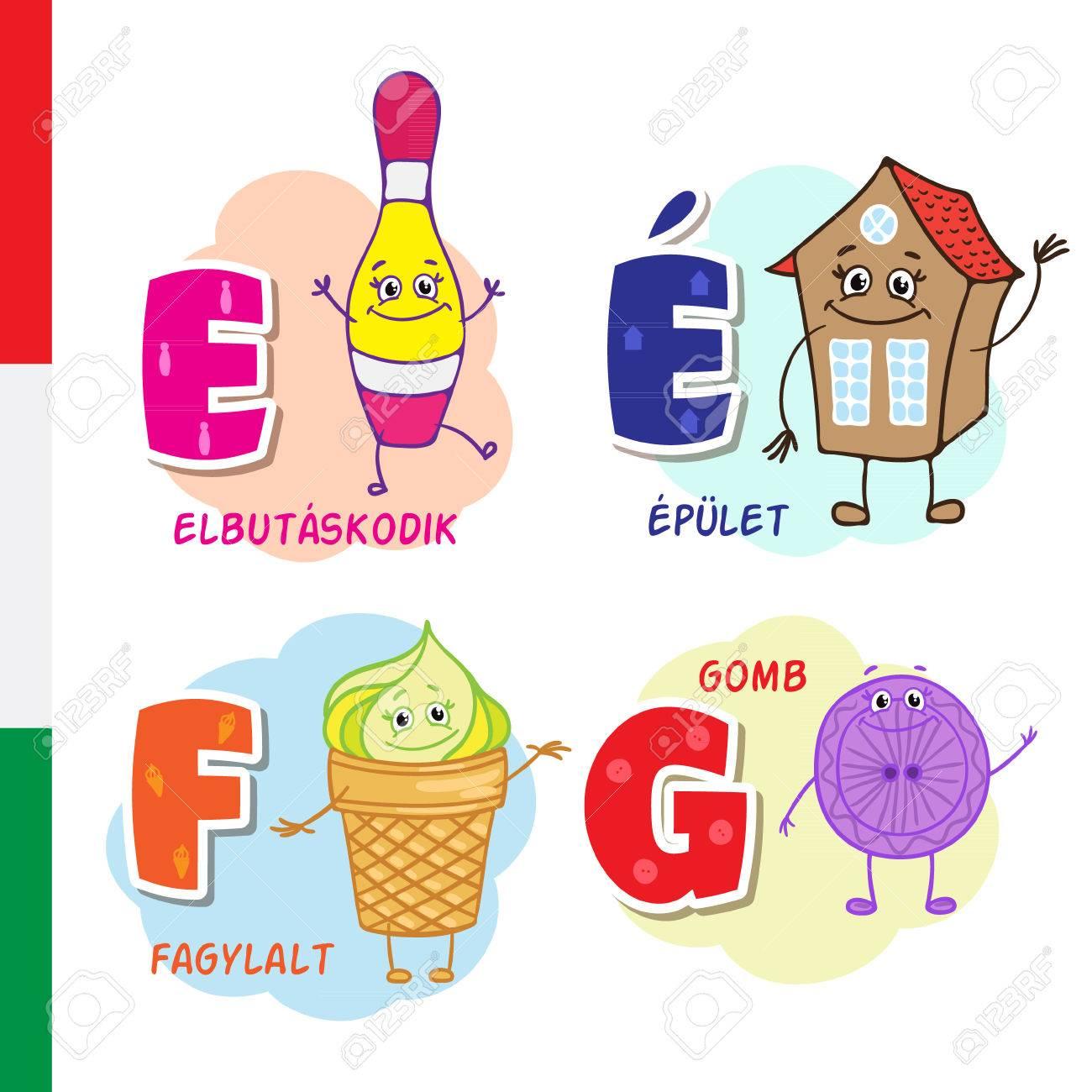 Ungarisches alphabet