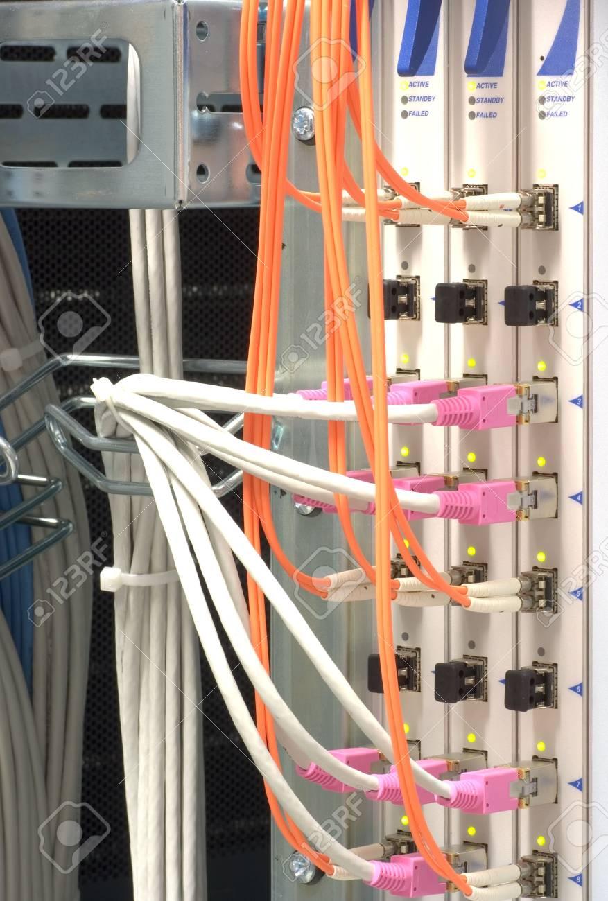 Optical High Performance Network Hardware Stock Photo - 6120483