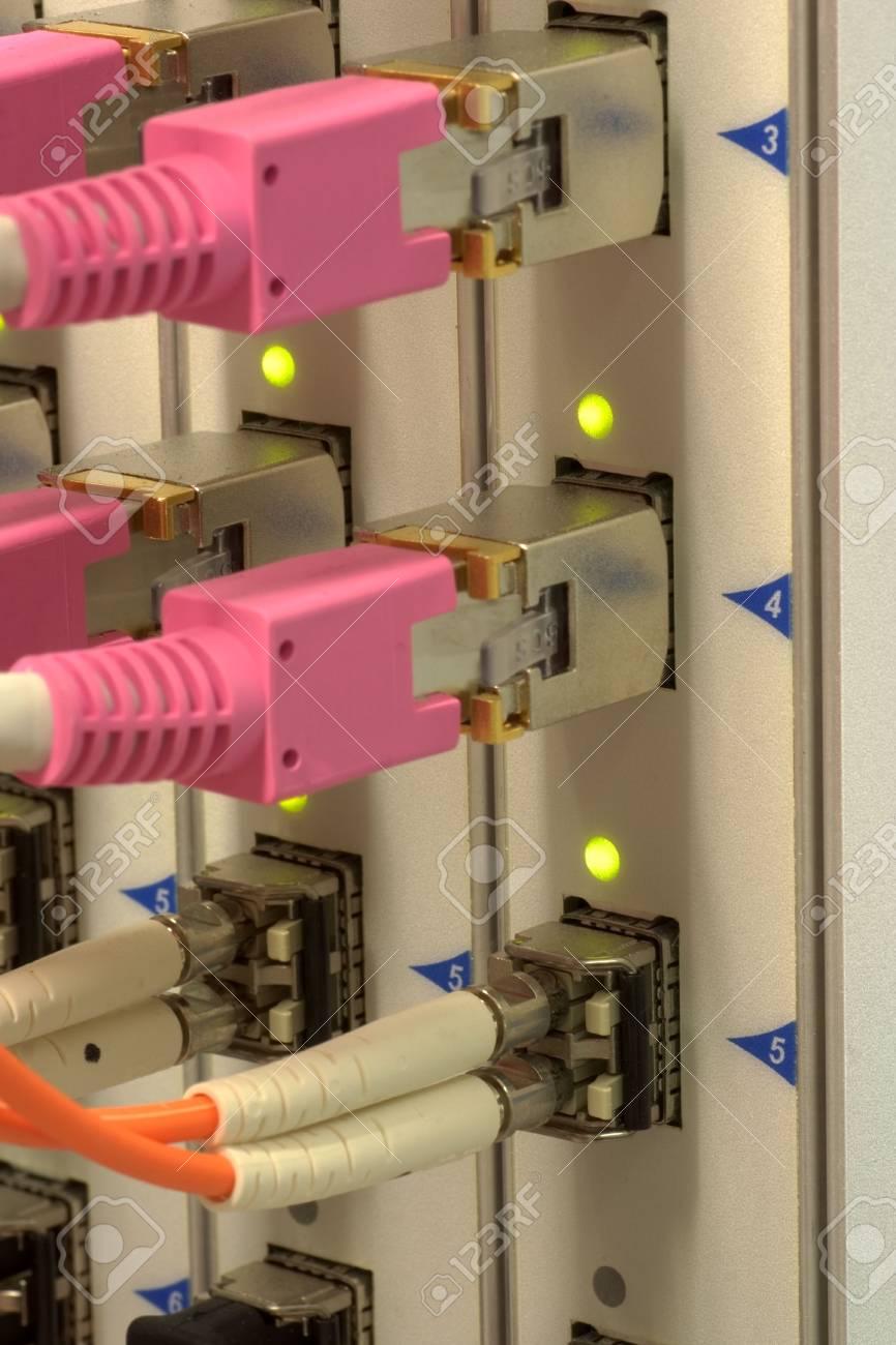 Optical High Performance Network Hardware Stock Photo - 6120490
