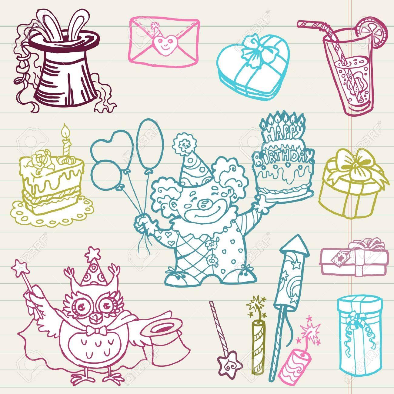 Приглашение на день рождения нарисовать своими руками