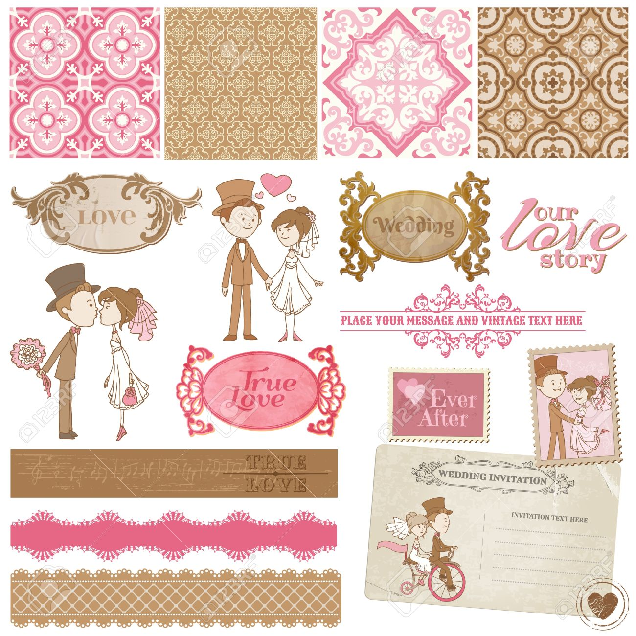 55,964 Scrapbooking Cliparts, Stock Vector And Royalty Free ...