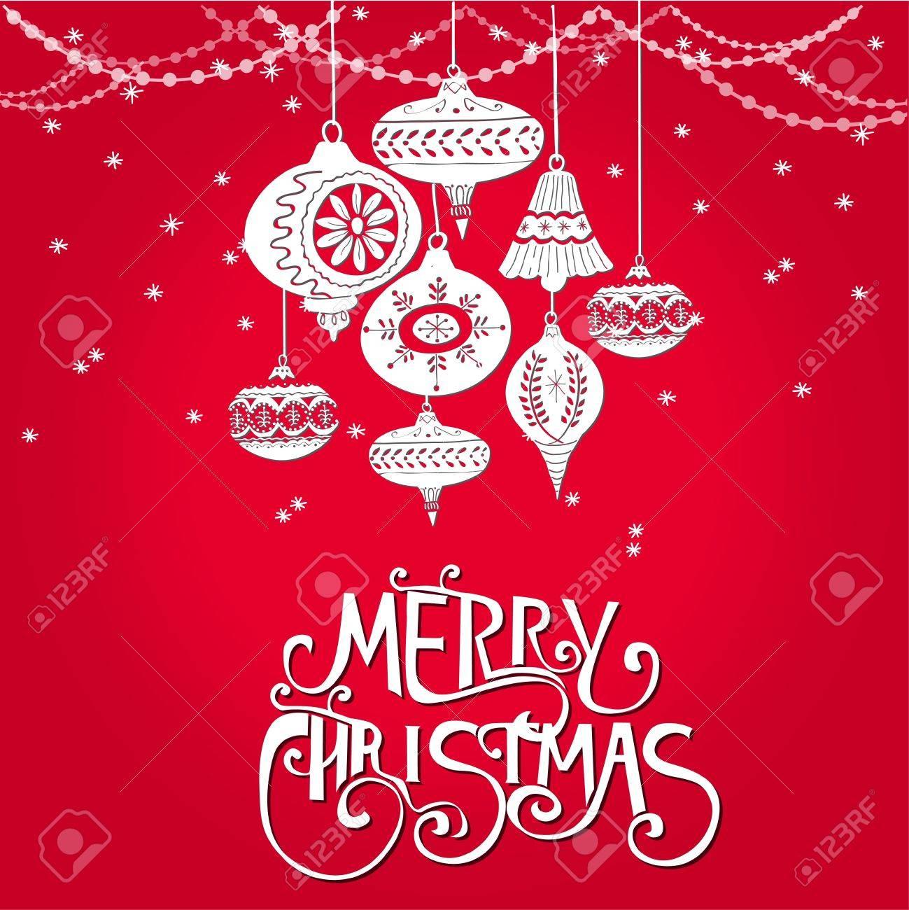 Weihnachtsbaumkugeln design