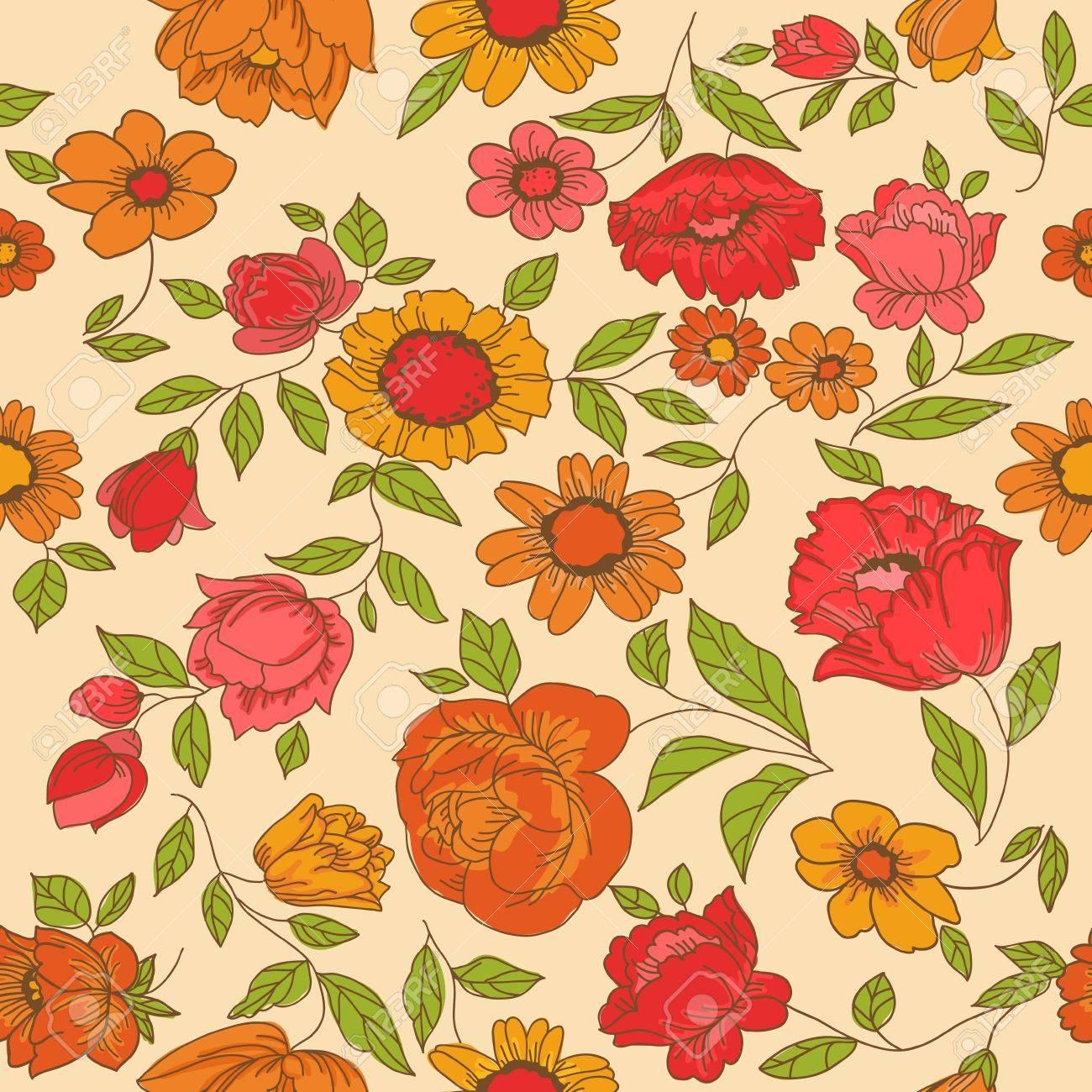 Vintage Flower Designs