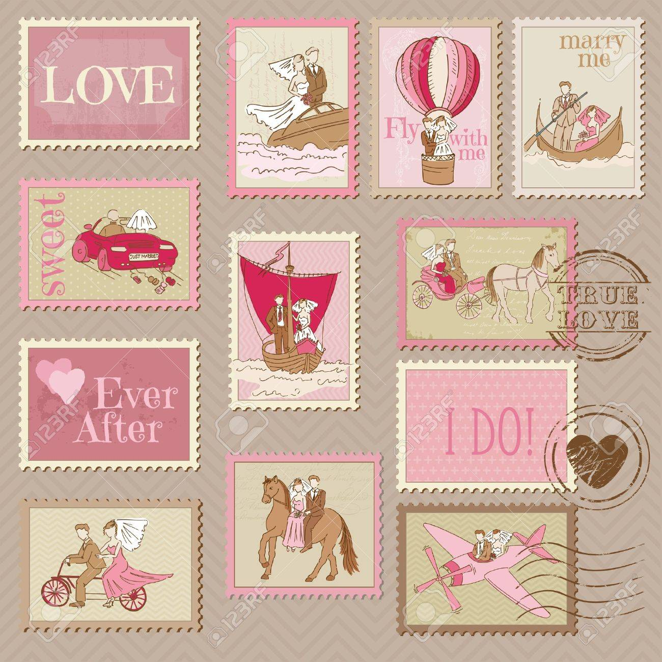 prweb wedding postage stamps Wedding Postage Stamp SamplerThis is a sampling of the many customizable wedding stamps available from ArtisticPostage com