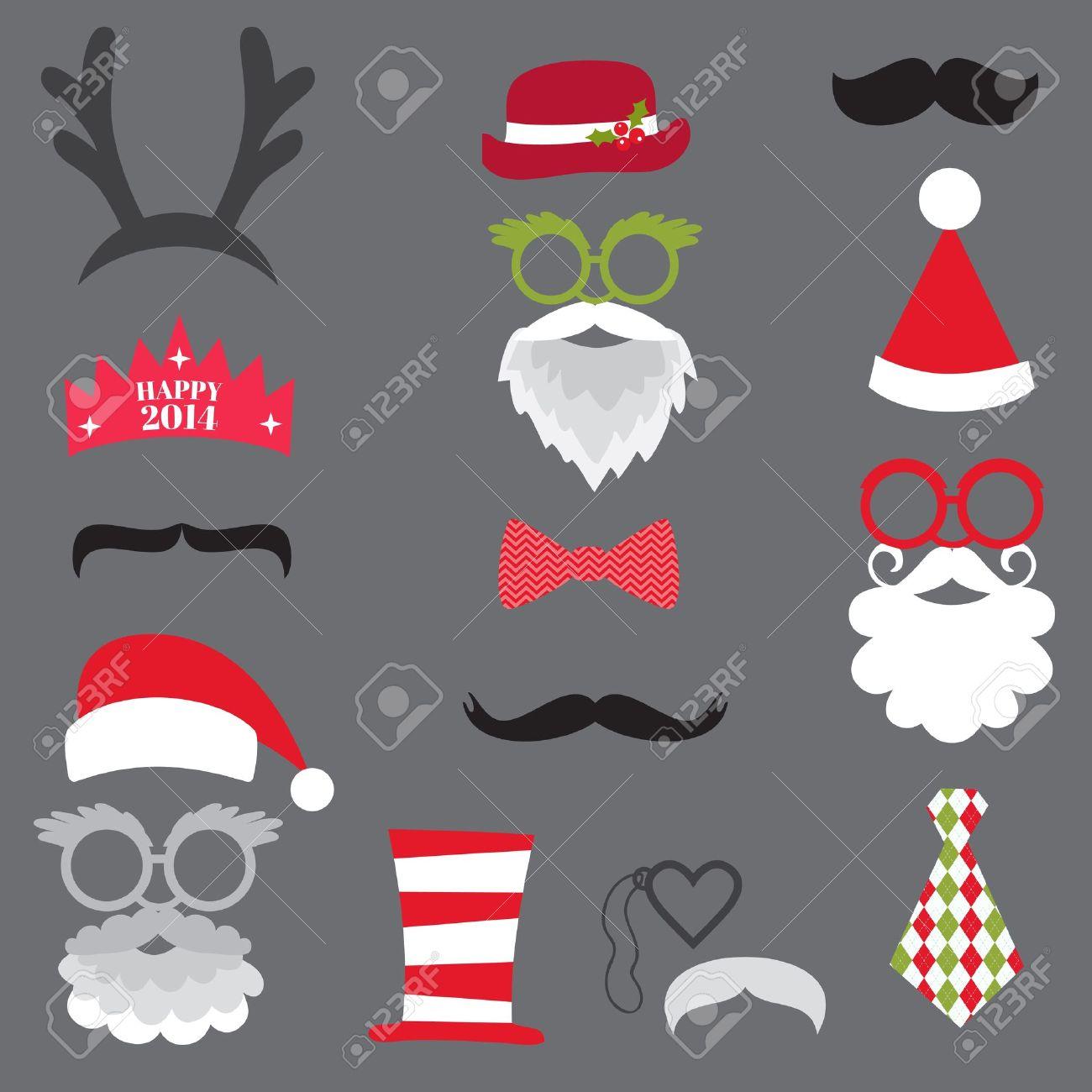 Photo Booth Weihnachten.Stock Photo