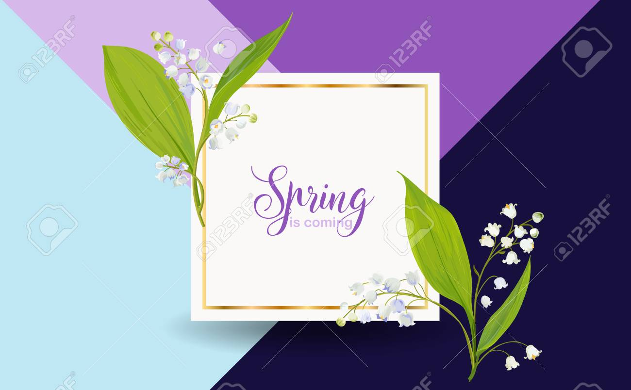 Floral spring design template for card sale banner poster floral spring design template for card sale banner poster placard cover izmirmasajfo Image collections