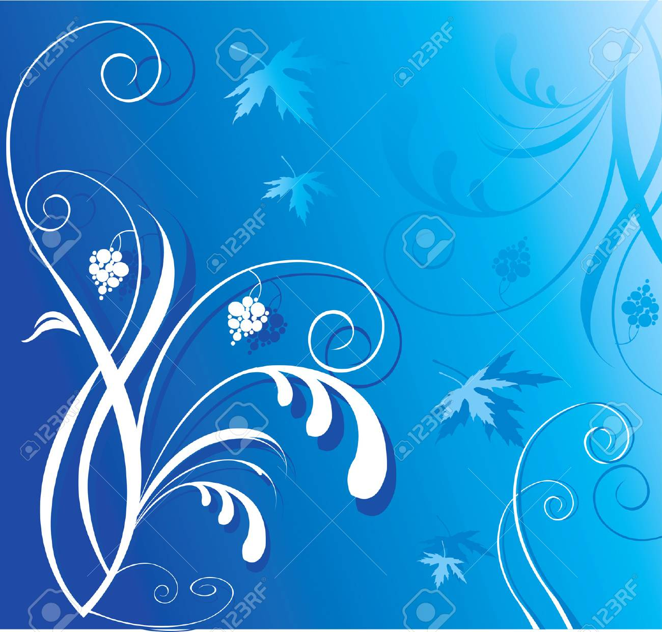 floral background Stock Vector - 1674034