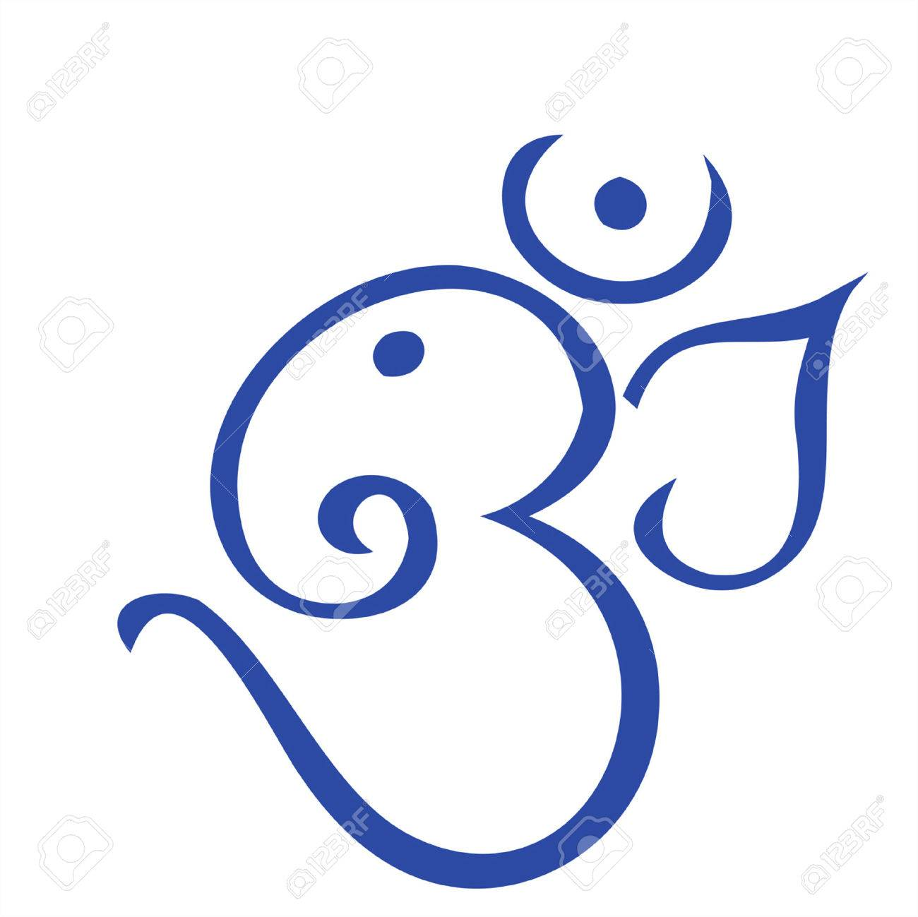 Ohm Shaped Ganesha Royalty Free Cliparts Vectors And Stock