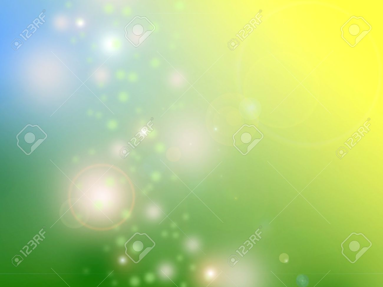 Abstract Background Design In Cheerful Spring Colors Stock Photo