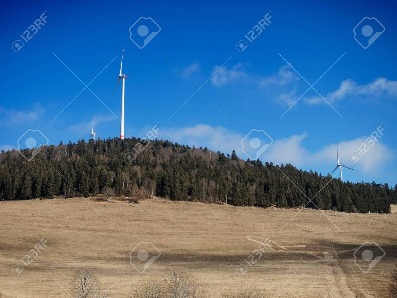 風タービンまたはドイツのアイオ...
