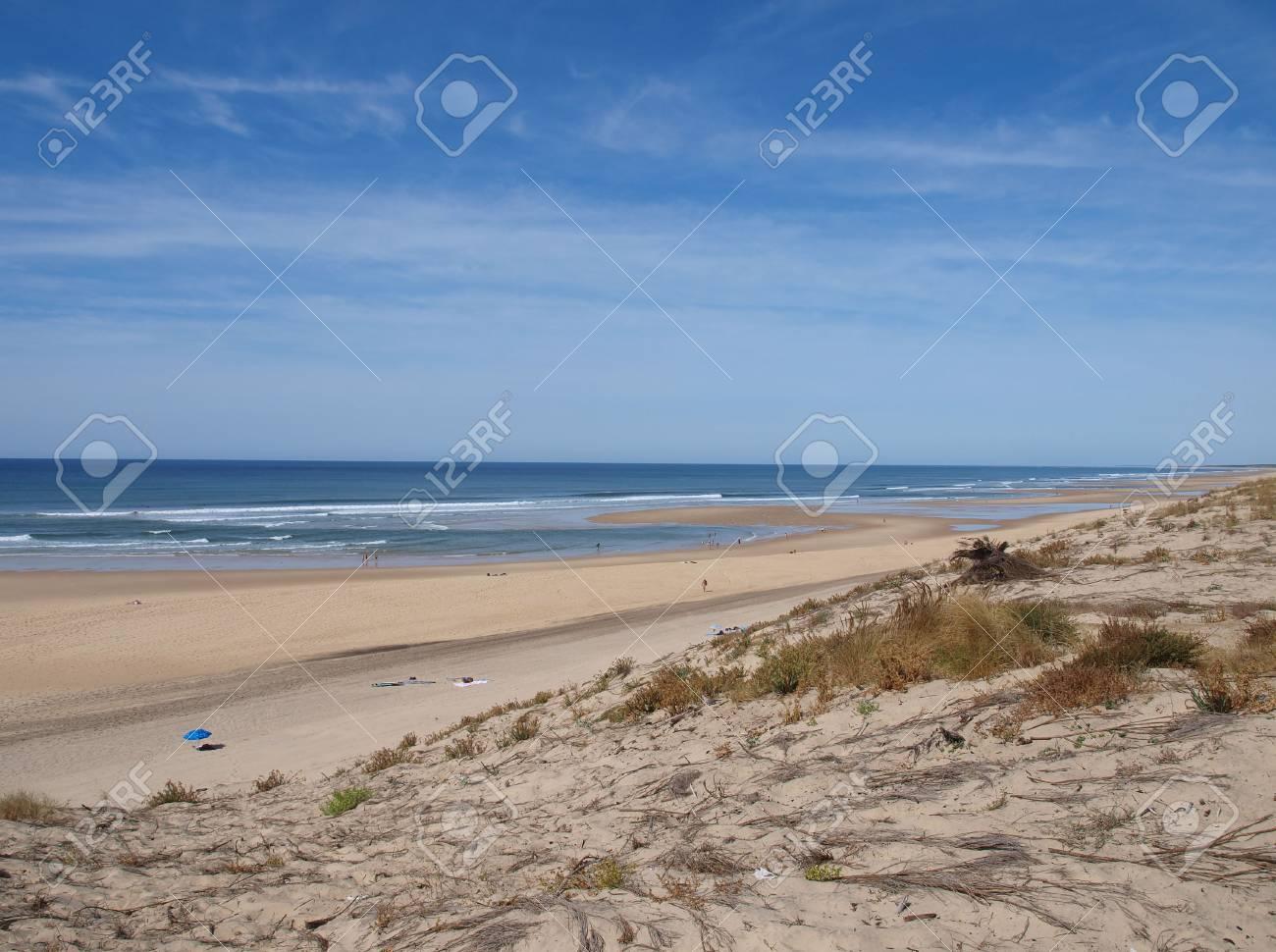 Stock Photo the great golden beach