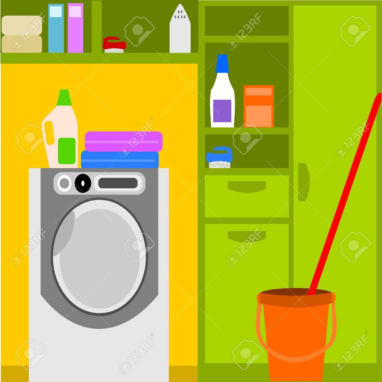 Laundry Stock Vector - 11032054