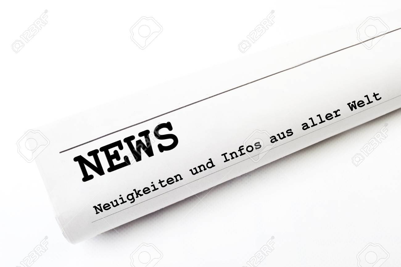 news newspaper Stock Photo - 16316484