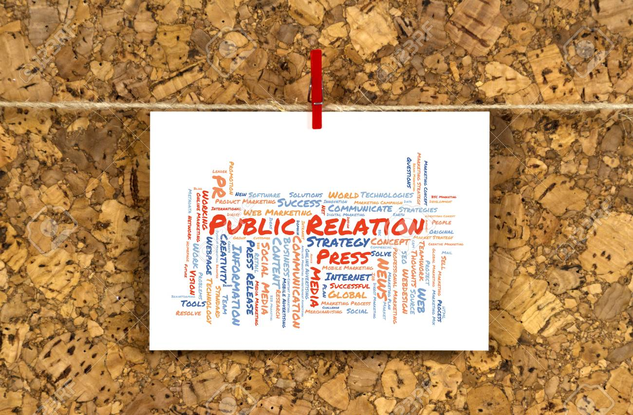 Business card with public relation word cloud shaped as a arrow business card with public relation word cloud shaped as a arrow to the right on a reheart Choice Image