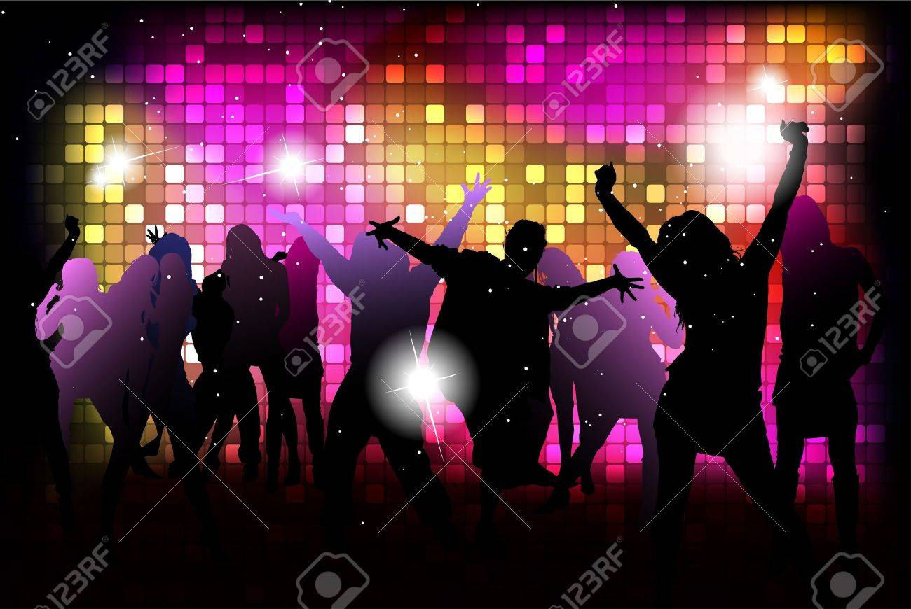 Party People Background Kids Dance