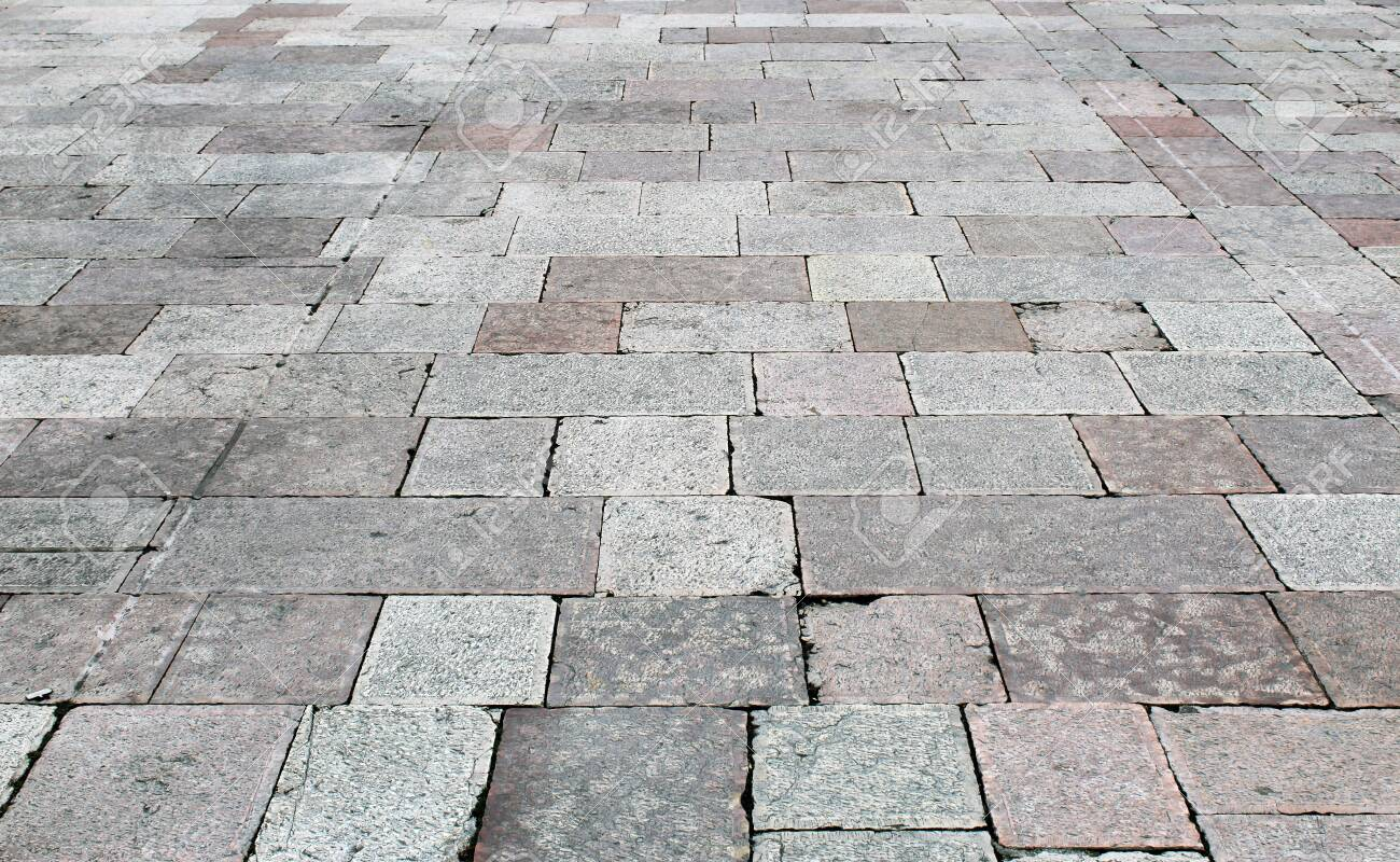 Natural Stone Floor Tiles Squares And Rectangles Texture Stock Photo Picture And Royalty Free Image Image 139443937