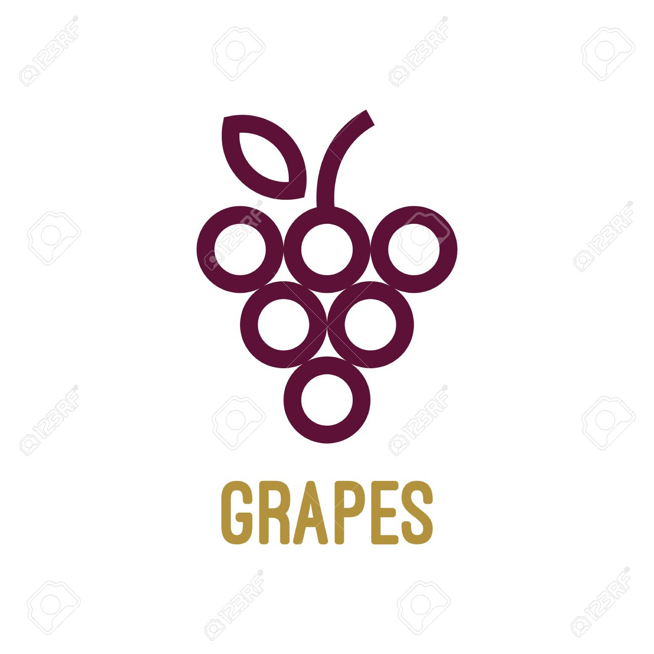 grapes template