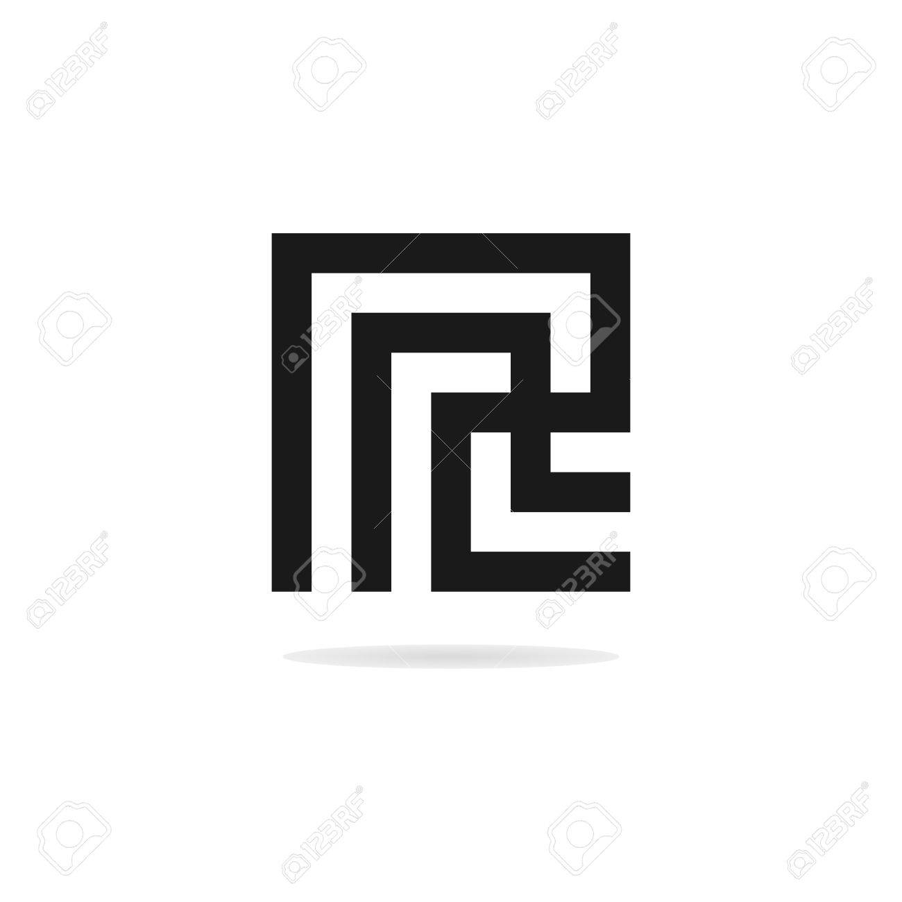 abstract letter r logo template business logo template stock vector 53551327