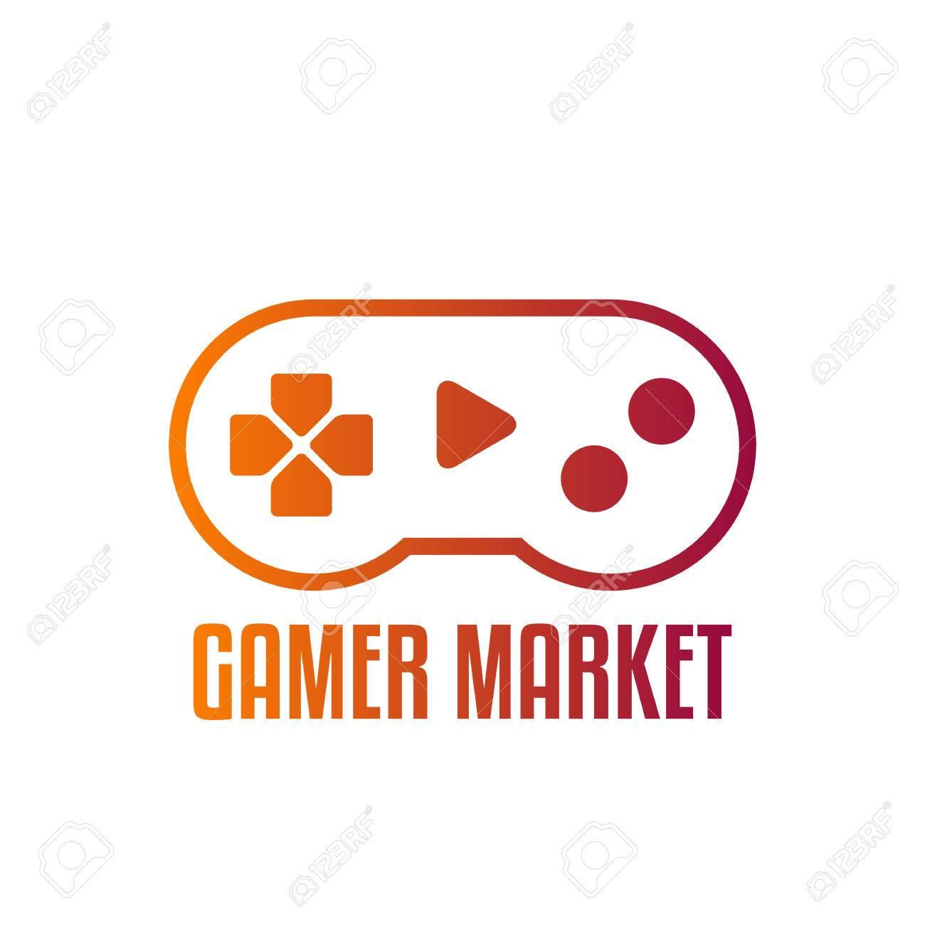 game controller logo template joystick logo joystick icon