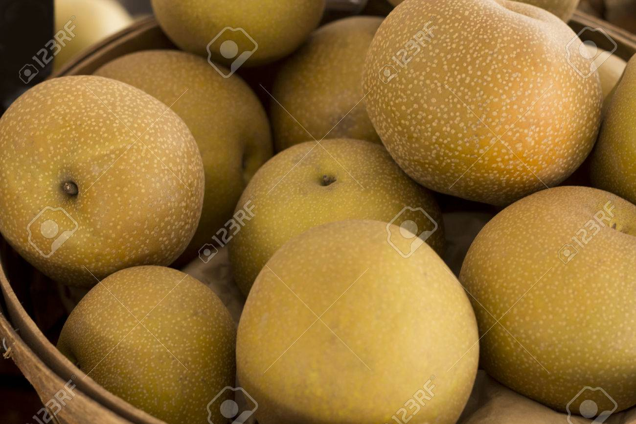 pears ripe asian