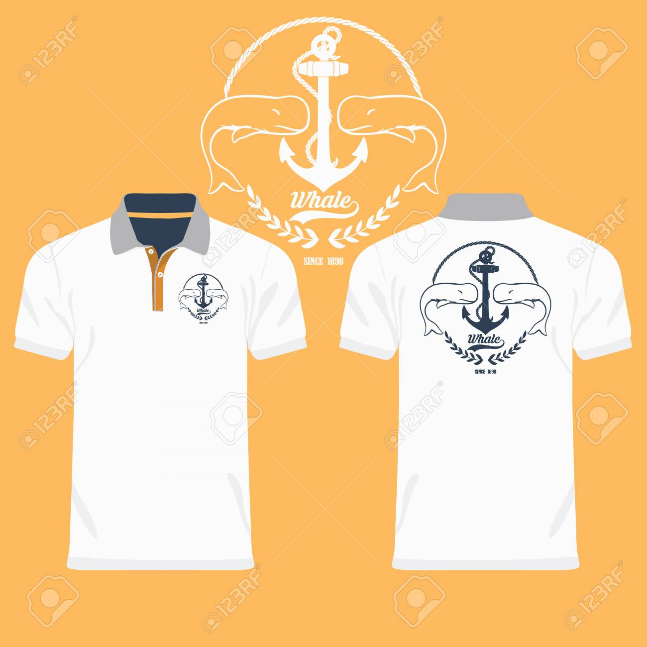 Color Men Polo Shirts Royalty Free Cliparts Vectors And Stock