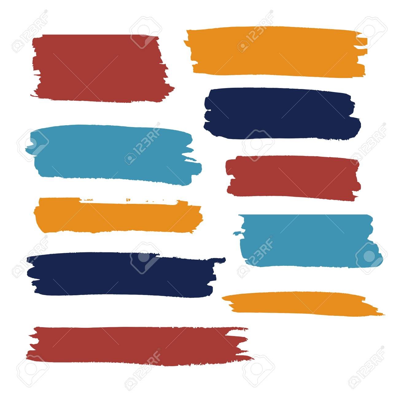 color vector brush strokes of paint royalty free cliparts vectors rh 123rf com paint vector free print vector in c++
