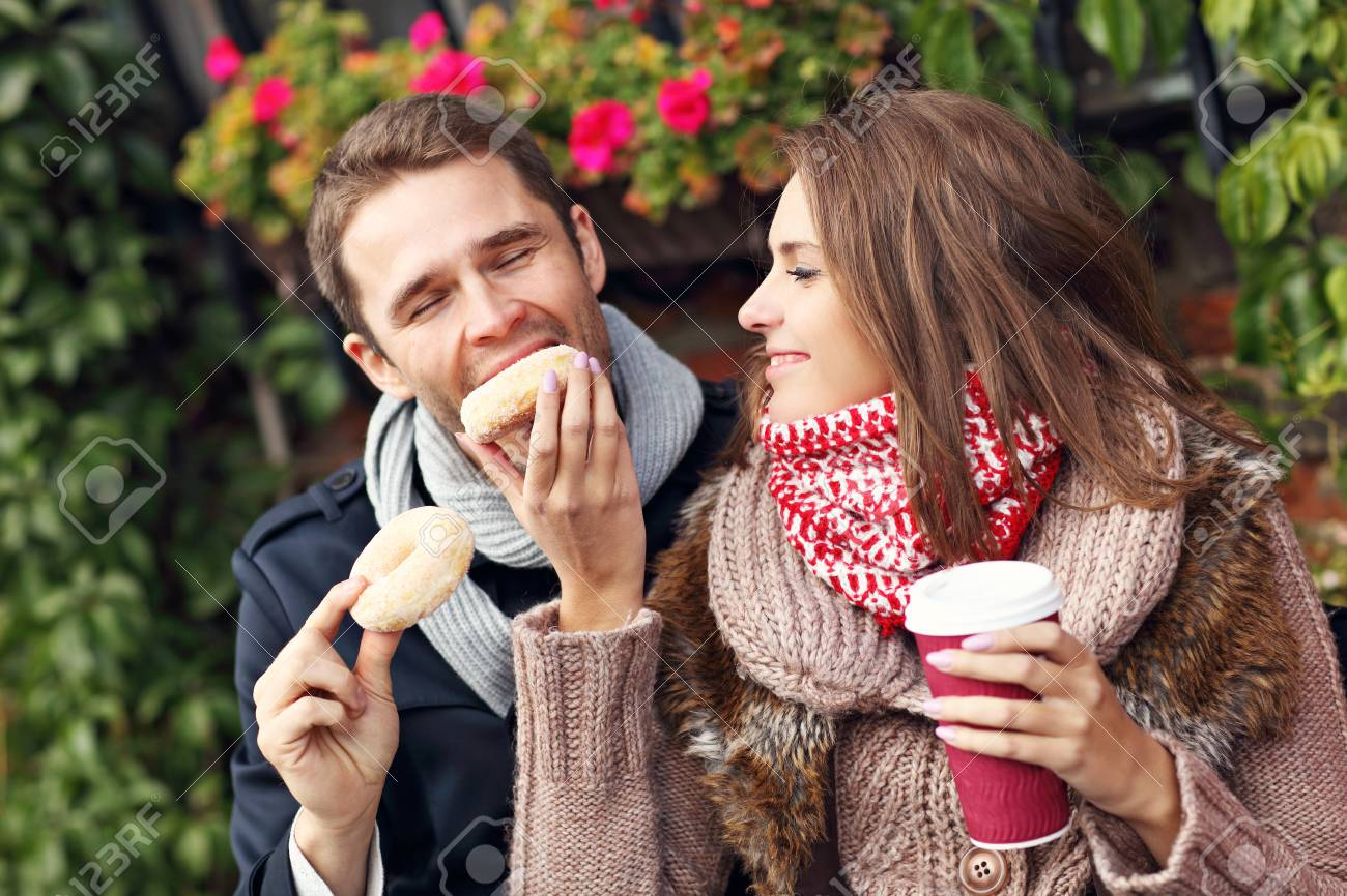 donuts and coffee dating