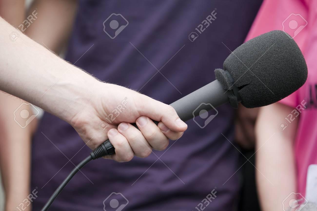 microphone Stock Photo - 18095981
