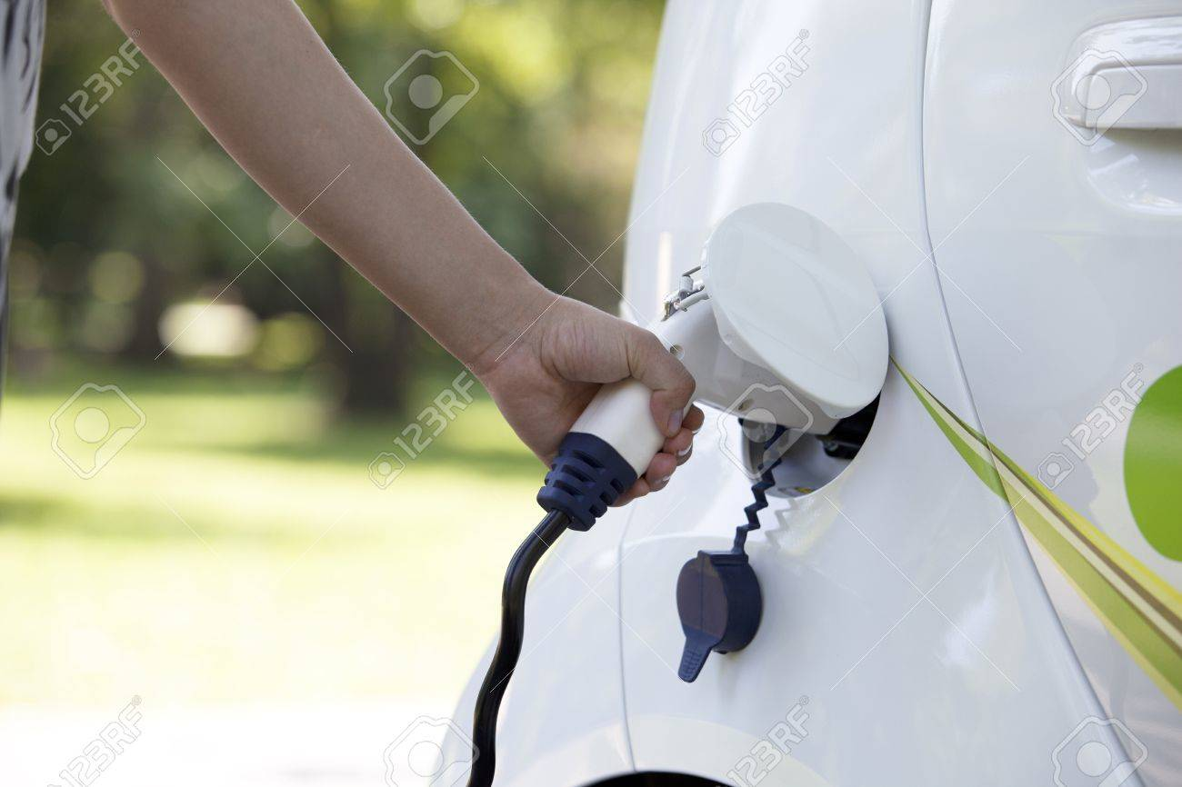 electric car Stock Photo - 18116902