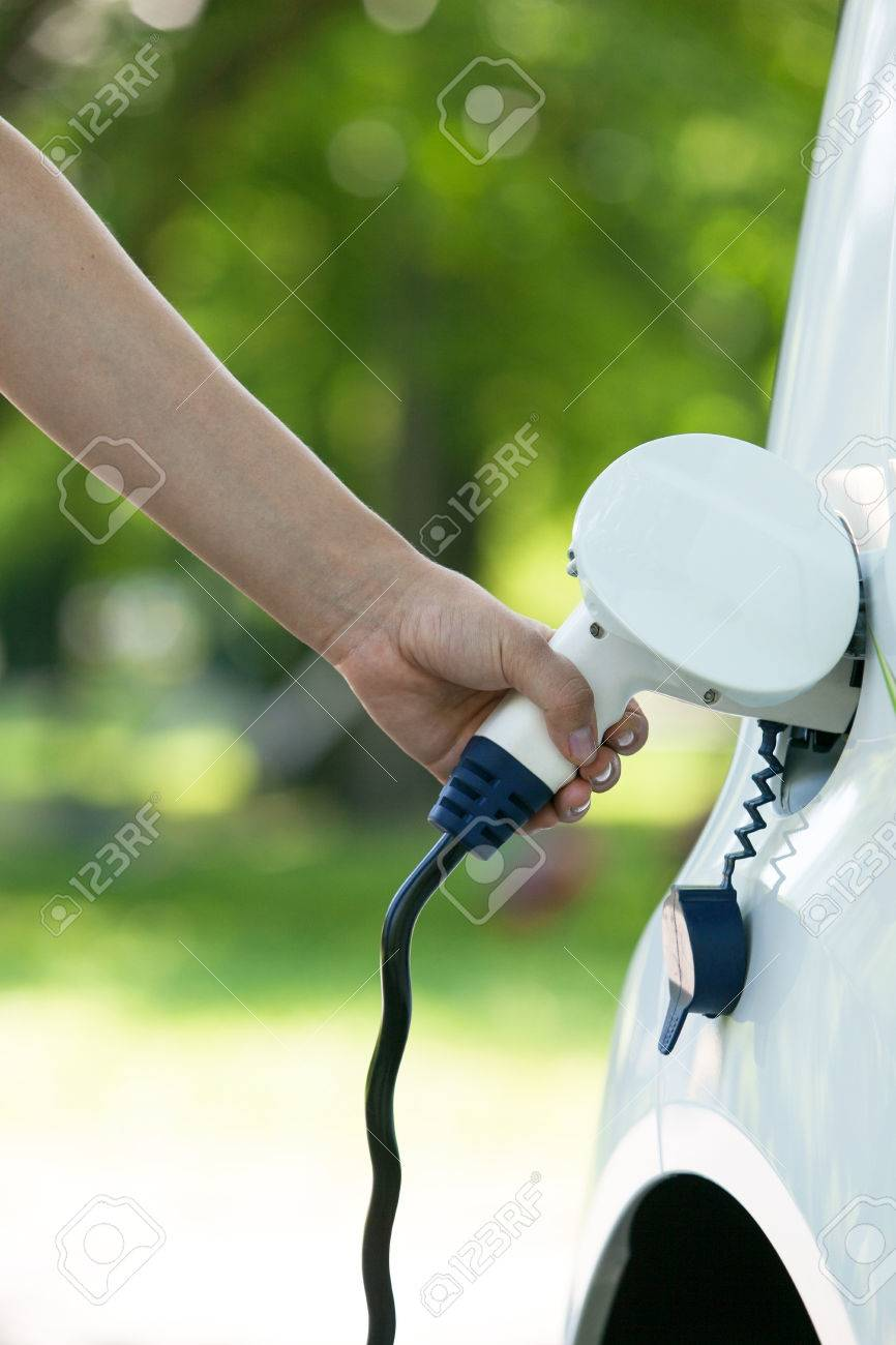 Charging battery of an electric car - 50485195