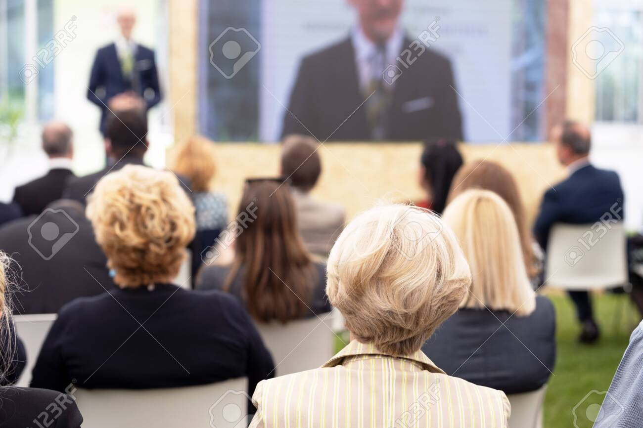Business presentation or professional conference - 152181386