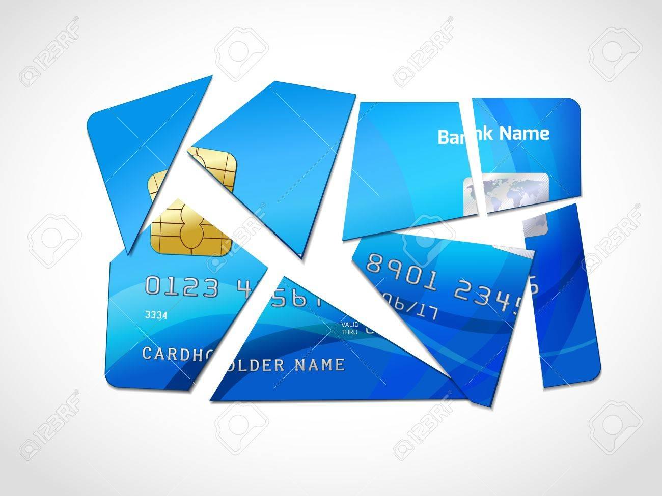 Broken credit card default debt bankruptcy symbol isolated broken credit card default debt bankruptcy symbol isolated illustration foto de archivo 26330510 buycottarizona Gallery