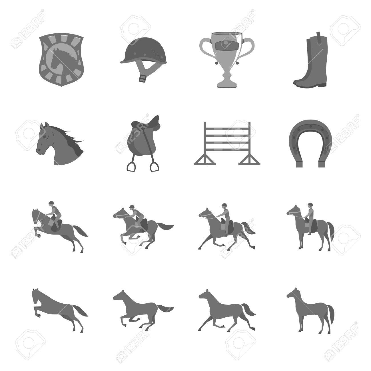 3,899 Dressage Stock Vector Illustration And Royalty Free Dressage ...