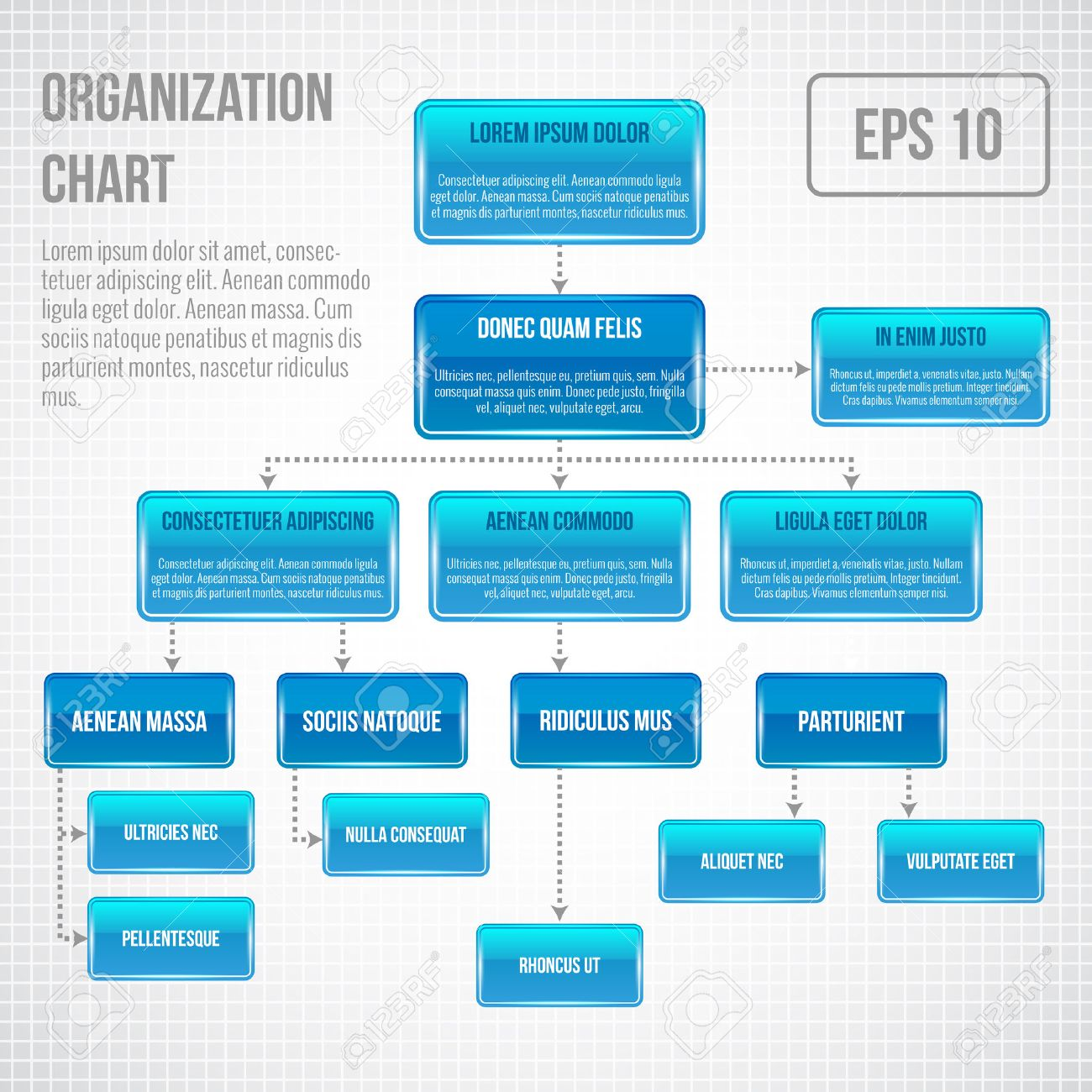28307 Organization Chart Cliparts Vector And Royalty Free – Business Organizational Chart