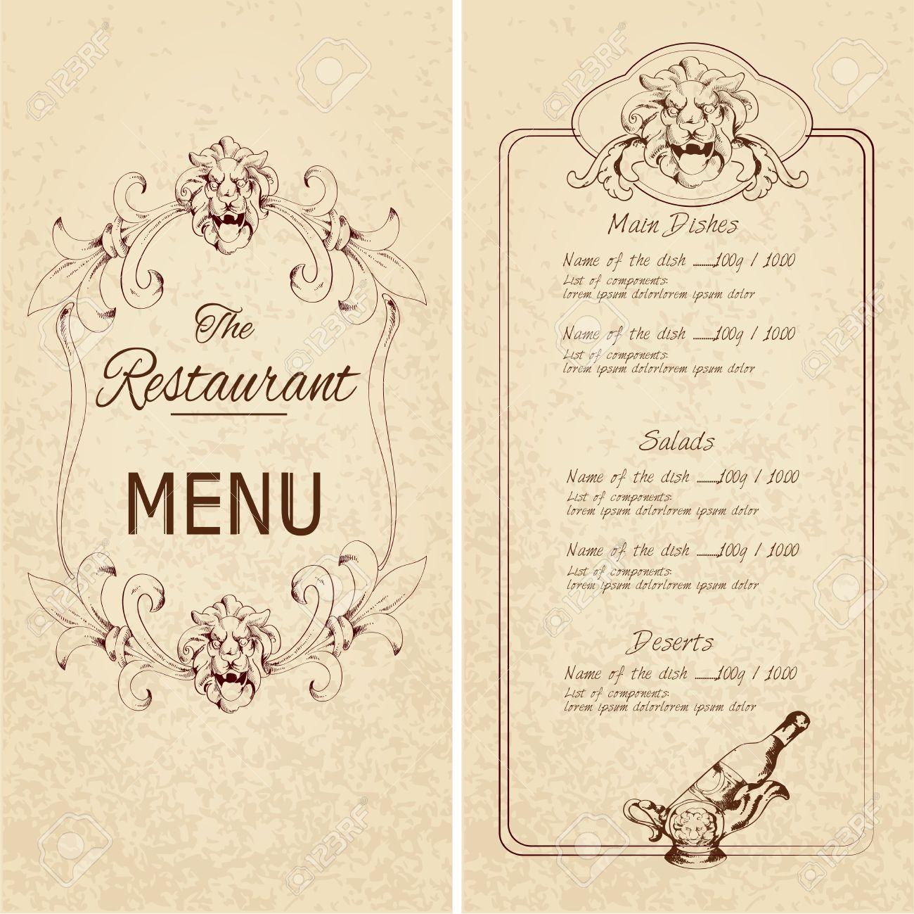 Großzügig Wein Abendessen Menüvorlage Fotos - Entry Level Resume ...