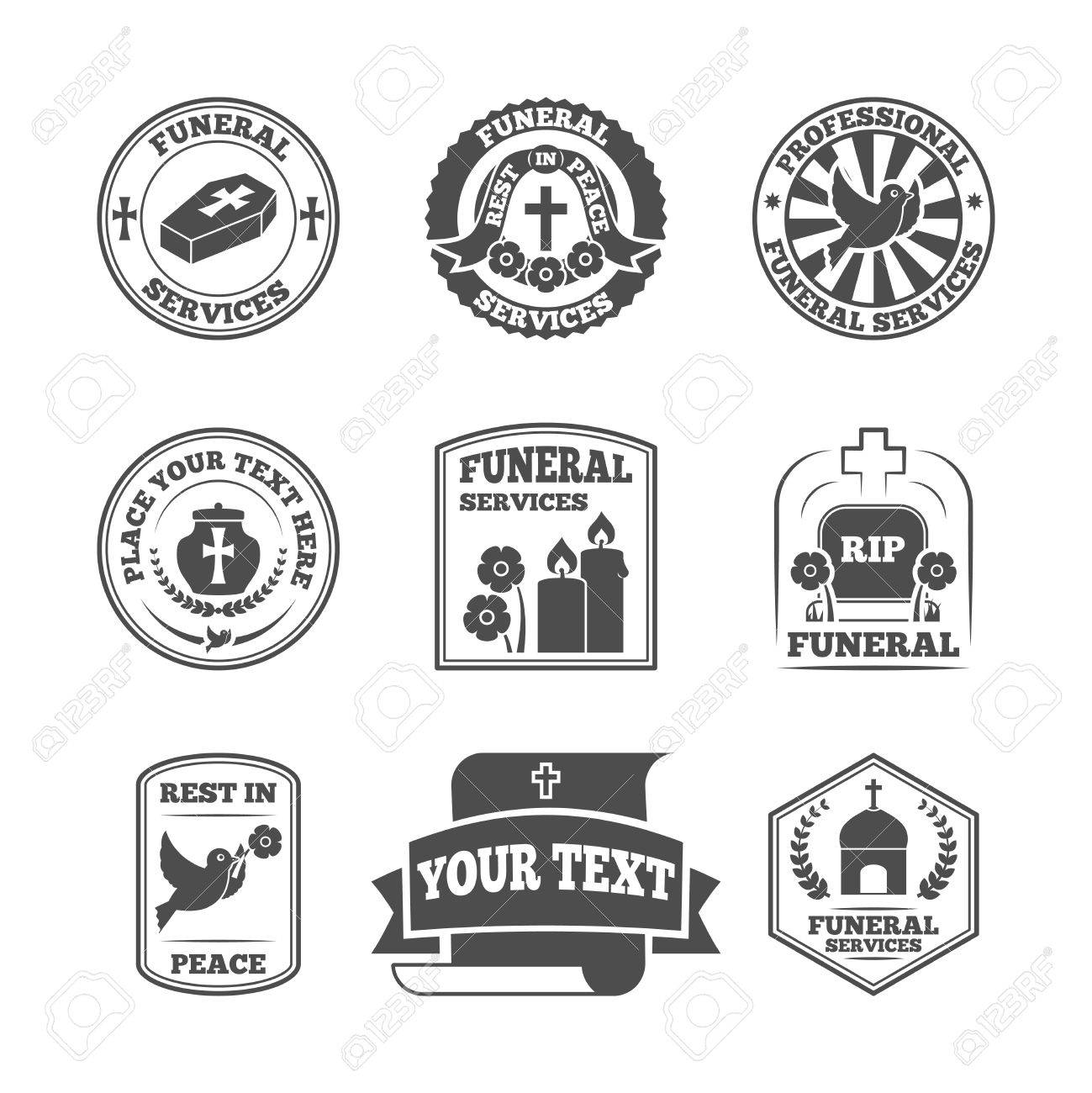 funeral home undertaking ceremonial service fill in templates