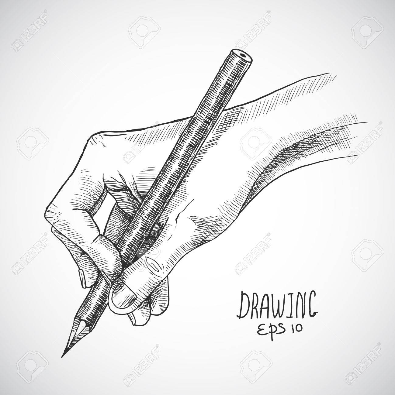 Sketch Of A Pencil