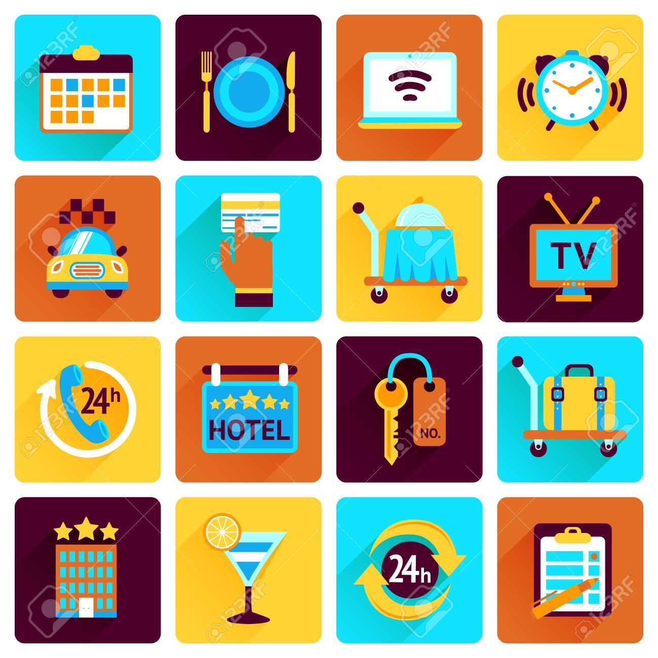 3,402 Hotel Reservation Stock Illustrations, Cliparts And Royalty ...