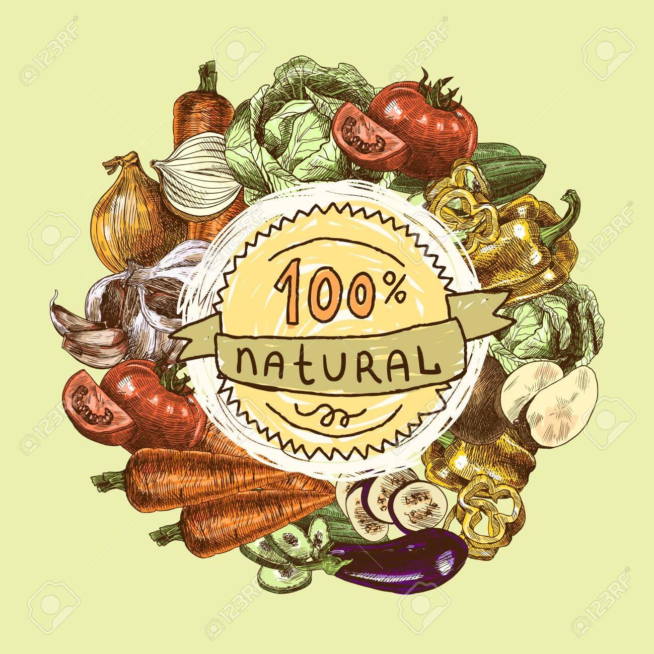 Vegetables natural organic fresh food color still life background..